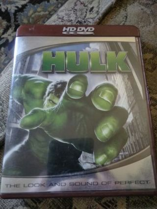 HULK HD DVD.. Excellent Condition... Gin....