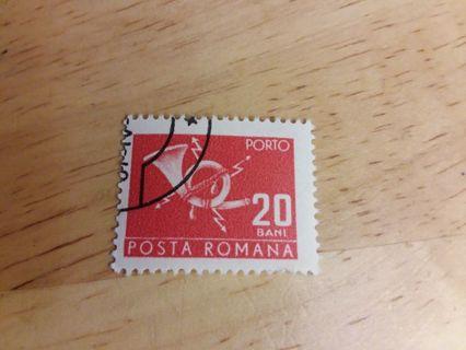 Used Posta Romana Stamp