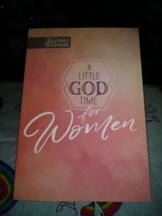 "❤♡❤♡❤♡BRAND NEW ""A LITTLE GOD TIME FOR WOMEN"" BOOK❤♡❤♡❤+BONUS BOOKMARK!"