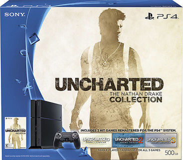 BRAND NEW! Sony  PlayStation 4 500GB Uncharted! Nathan Drake Collection PS4~Bundle!