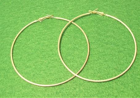 New Large Hoop Earrings