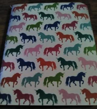 #1-Hampton Art  Unicorn Mini Journal