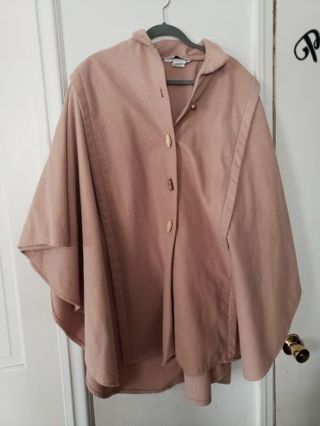 Plus size cloak