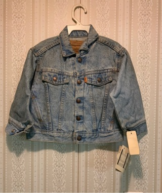 NEW TODDLER DENIM LEVI JACKET