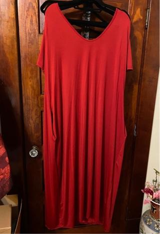 3X Maxi Dress