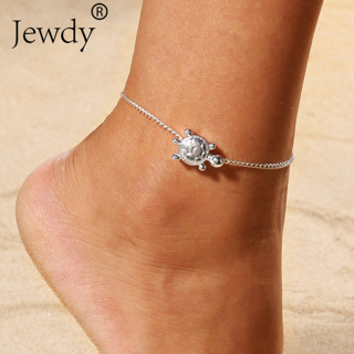 2019 Boho Beach Turtle Barefoot Sandals Anklet Chain Silver Animal Foot Bracelets Fashion Jewelry