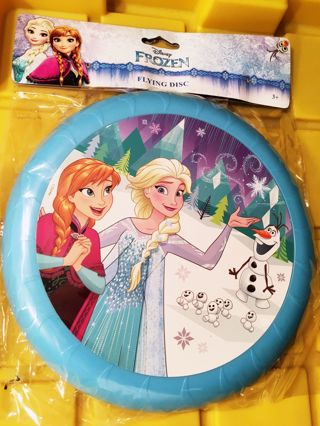 "NEW DISNEY'S FROZEN MOVIE FLYING FRISBEE GAME 9"" SPORTS DISC FREE SHIPPING"