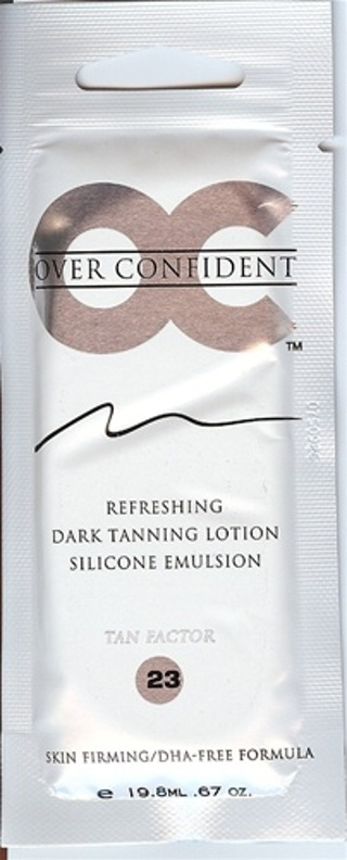2 SAMPLE PACKETS OF OC  TANNING LOTIONS