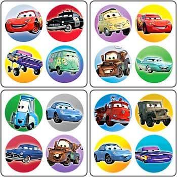 Free Disney Pixar Cars Cross Stitch Pattern 2 Email