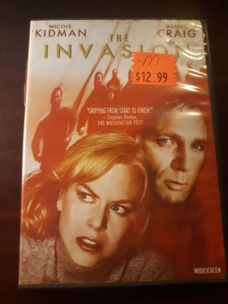 The Invasion DVD ~BUY 3 GET 1 FREE on all DVD and blurays~