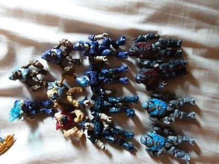 One random Halo Mega Bloks figure