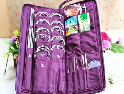 BN Stainless Steel Knitting Needles Gadgets Set