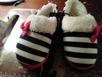 new girls slippers with tags