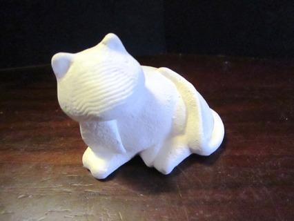 Unfinished Ceramic Piece - Cat