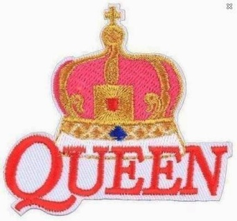 QUEEN Iron On Patch Band Patch Freddy Mercury Classic Rock FREE SHIPPING