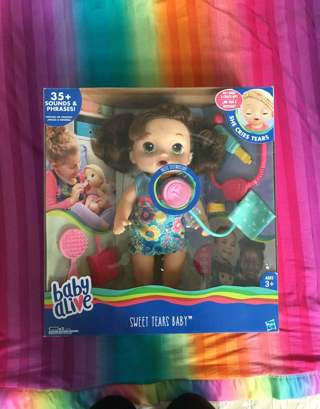 Baby alive Tears doll