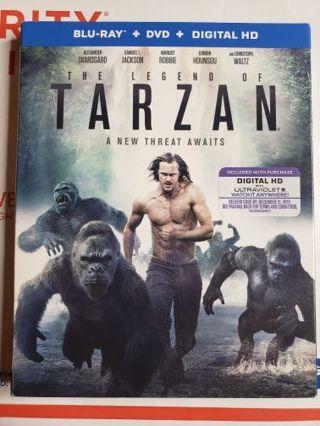 Tarzan Blue-ray movie