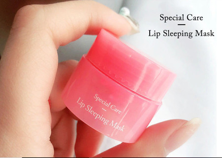 Korea Lip Sleeping Mask Night Sleep Maintenance Moistened Lip Balm the Pink Lips Bleaching