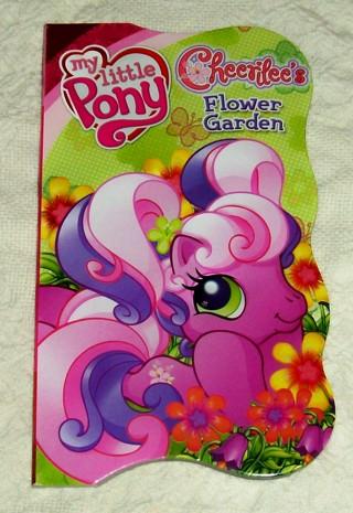 free new my little pony cheerilee s flower garden book