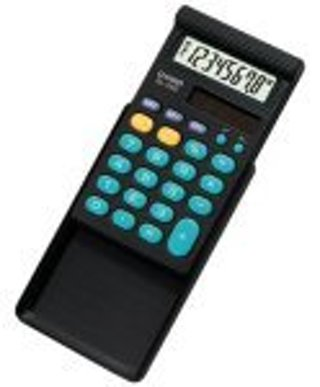 CASIO SOLAR BASIC CALCULATOR