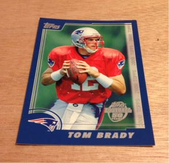 Free Topps Tom Brady Rookie Card The Never Was 2005 Topps