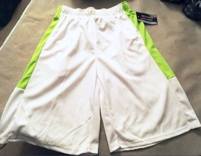 NEW Basketball Shorts XL Stretchy Pull String Pockets FREE SHIPPING