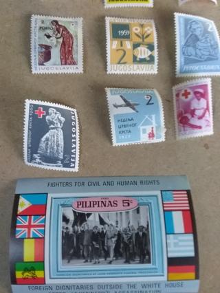 101* Worldwide Souvenir / Stamp Lot