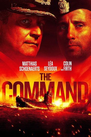 THE COMMAND DVD NEW RELEASE IN WHITE SLEEVE