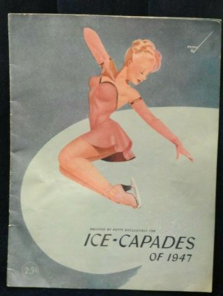 ice capades 1947 booklet