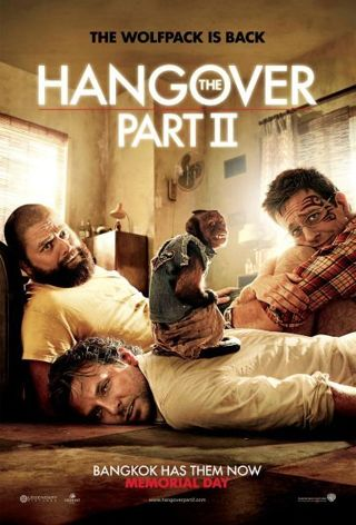 The Hangover Part II HD digital copy ONLY