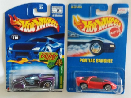 Hot Wheels Lot of 2 Tail Dragger Treasure Hunt & Pontiac Banshee