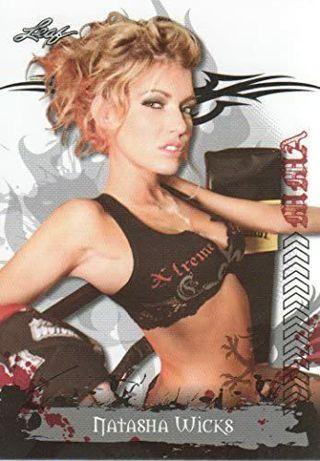 2010 Leaf MMA Trading Cards #96 Natasha Wicks