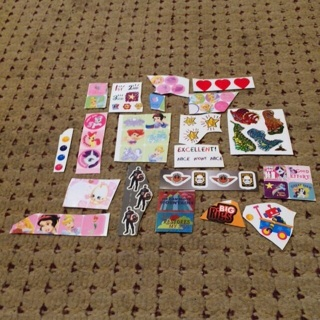Lot o of 20 stickers
