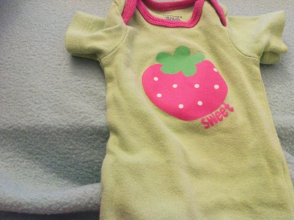 3 outfits for a baby girl