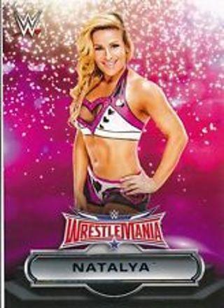 "Natalya Special ""Diva"" 2016 WWE Road to Wrestlemania # 29 of 30"