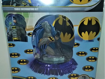 Batman Table Decorating Kit for birthday parties