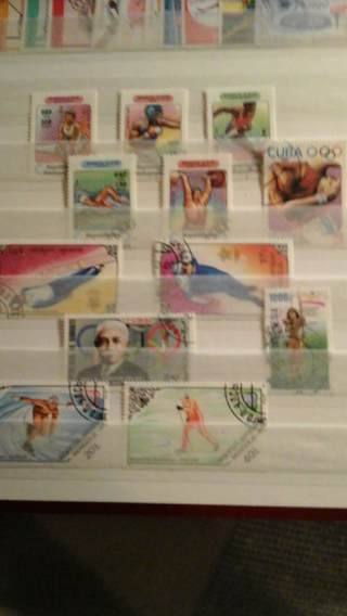 sale off page - olympa 12 all different stamps - L@@K - #B-RO-S14#3