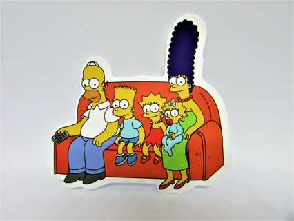 SIMPSONS Vinyl Sticker- Helmet/Car/Skateboard/Business/Crafts