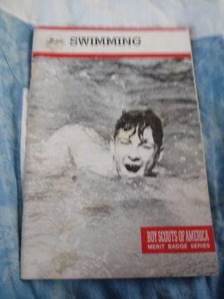 Boy Scouts of America Merit Badge Series Book Swimming