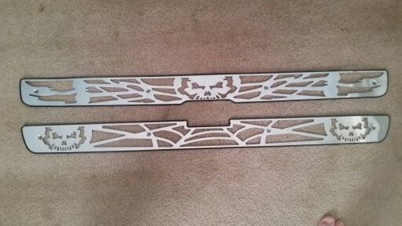 Stainless steel grill insert for chevy PLEASE READ BEFORE BIDING