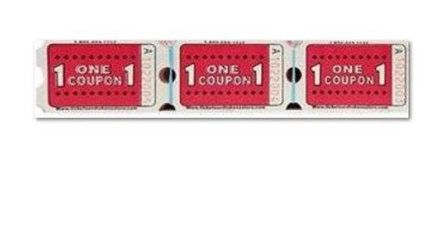 Red and White Tickets