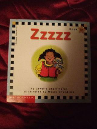 Used Children's Scholastic Book Zzzzz