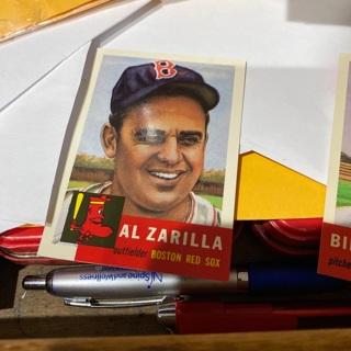 1953 topps archives al zarilla baseball card