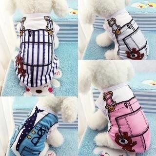 Cute Puppy Pet Dog Cat Soft Cotton Vest Summer Clothes T-Shirt Coat Supplies New