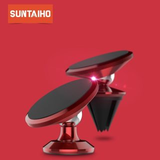 Suntaiho Magnetic Car Phone Holder For iPhone 7 Plus X 8 Air Vent Mount Stand For Samsung S9 Huawei