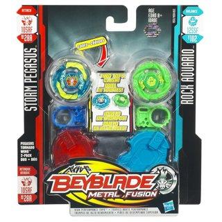 Free: Beyblade Metal Fusion Storm Pegasus vs. Rock Aquario ...