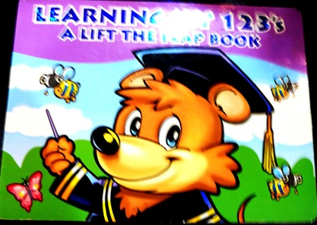 A Lift the Flap Book...Learning my 1 2 3 (Hard Cover)