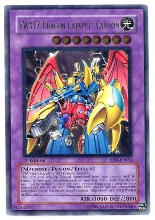 VWXYZ-Dragon Catapult Cannon - EEN-EN031 YUGIOH CARD Ultimate Rare Unlimited Edition YUGIOH TCG