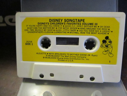 Disney's Children's Favorites Volume III - Cassette
