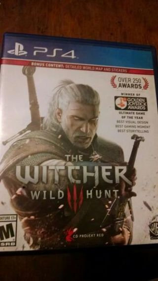 THE WITCHER 3!! FULL GAME FOR PS4!! FREE SHIPPING